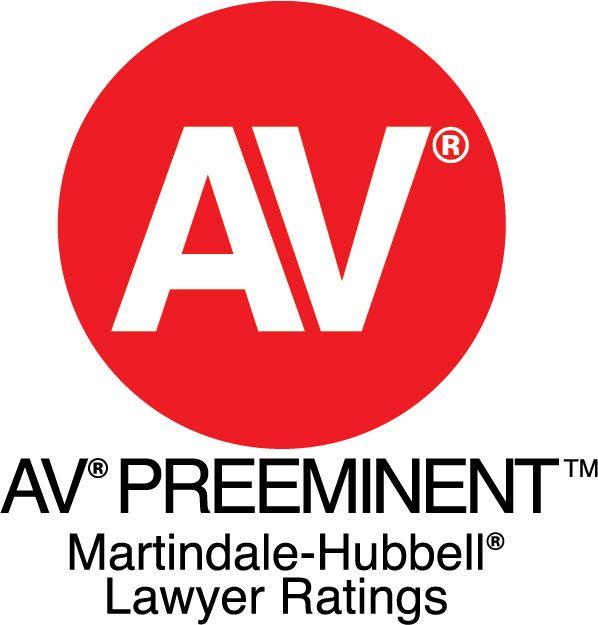 Martindale-Hubbell® AV Preeminent Rating